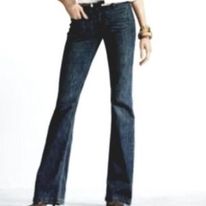 CAbi Mid Rise Wide Leg Jeans 4